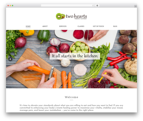 Free WordPress Newsletter plugin - twoheartsnutrition.com