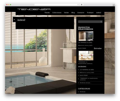 Black Label theme WordPress - tendenzia.es