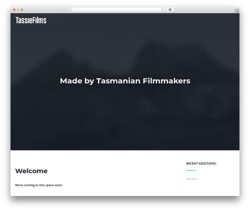 Cronus WordPress theme download - tassiefilms.com