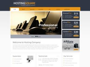 Hosting Square business WordPress theme