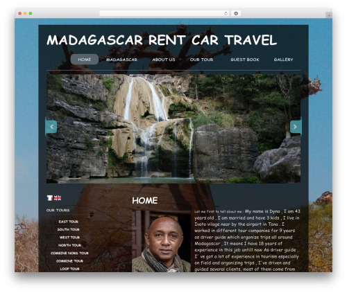 Photoria WP theme - madagascar-rentcar-travel.com
