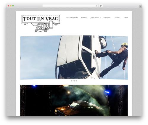 Rebirth template WordPress - toutenvrac.net