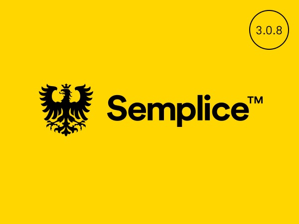 Semplice WordPress theme design