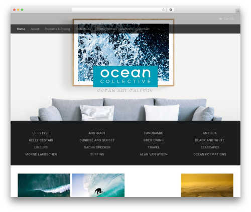 Stocky WordPress page template - test.oceancollective.co.za