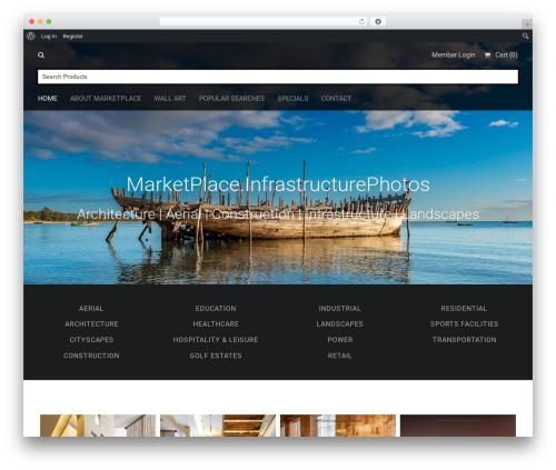 Stocky WordPress theme image - marketplace.infrastructurephotos.com
