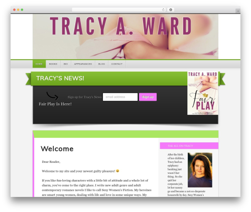Theme WordPress Generate Child Theme - tracyaward.com