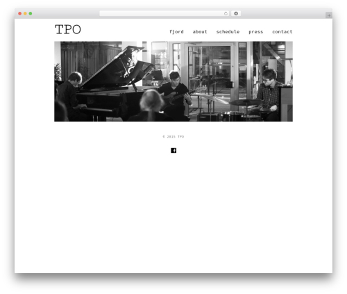 X theme WordPress - tpo-music.com
