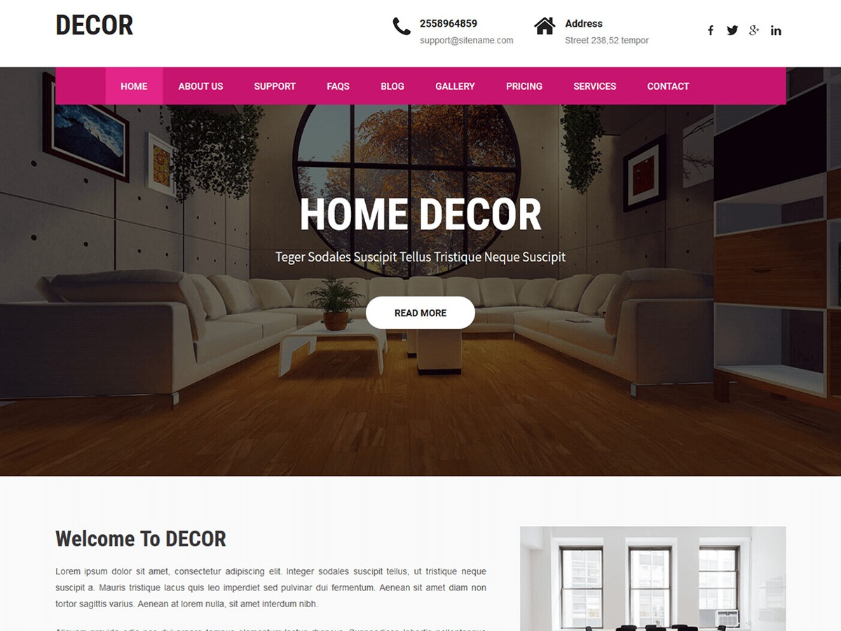 Decor Lite best WooCommerce theme