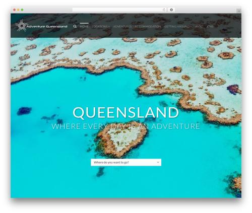 Flatsome best WordPress theme - adventurequeensland.com.au