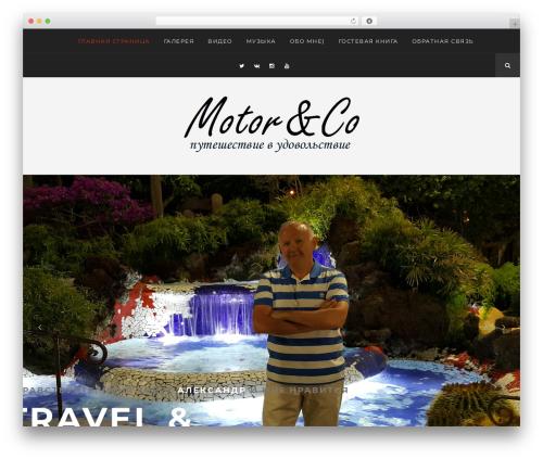 Hayes WordPress website template - alekstravel.ru
