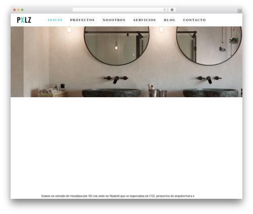 Pxlz best WordPress template - alfonsoperezalvarez.com