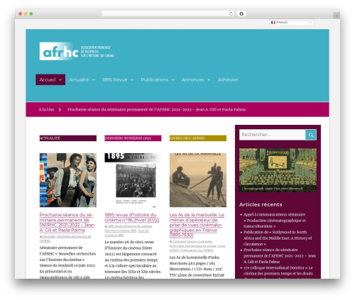 Theme WordPress Clean Education Pro - afrhc.fr