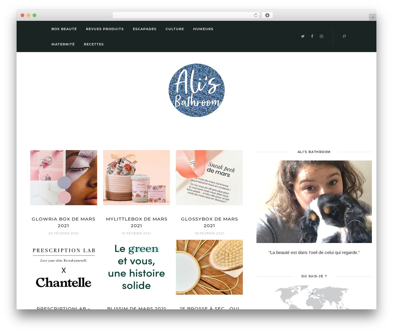 Theme WordPress Solien - alisbathroom.com