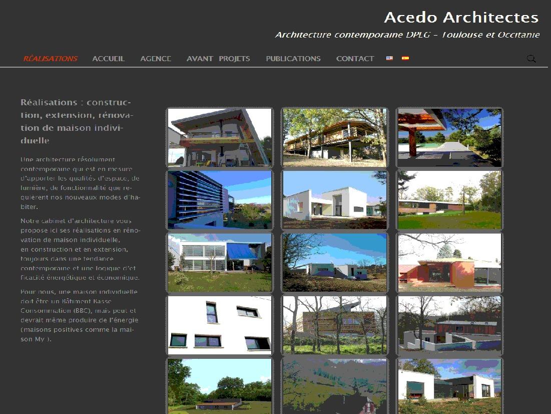 WordPress website template Twenty Thirteen xili Acedo Child Theme