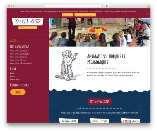 Avada WordPress website template - animationpedagogique.com