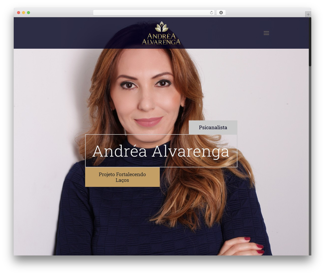 Betheme template WordPress - andreaalvarenga.com