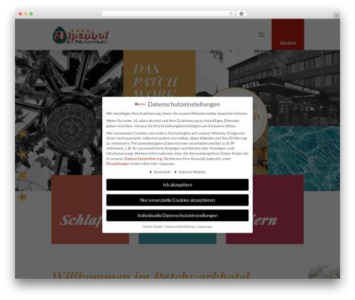 WordPress wp-slick-slider-and-image-carousel-pro plugin - alpenhof-hotel.de