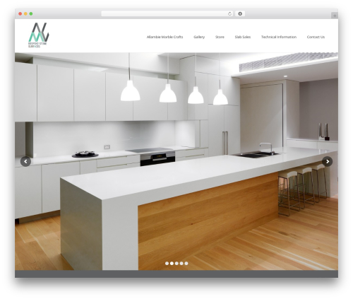Jupiter top WordPress theme - allambiemarble.com.au