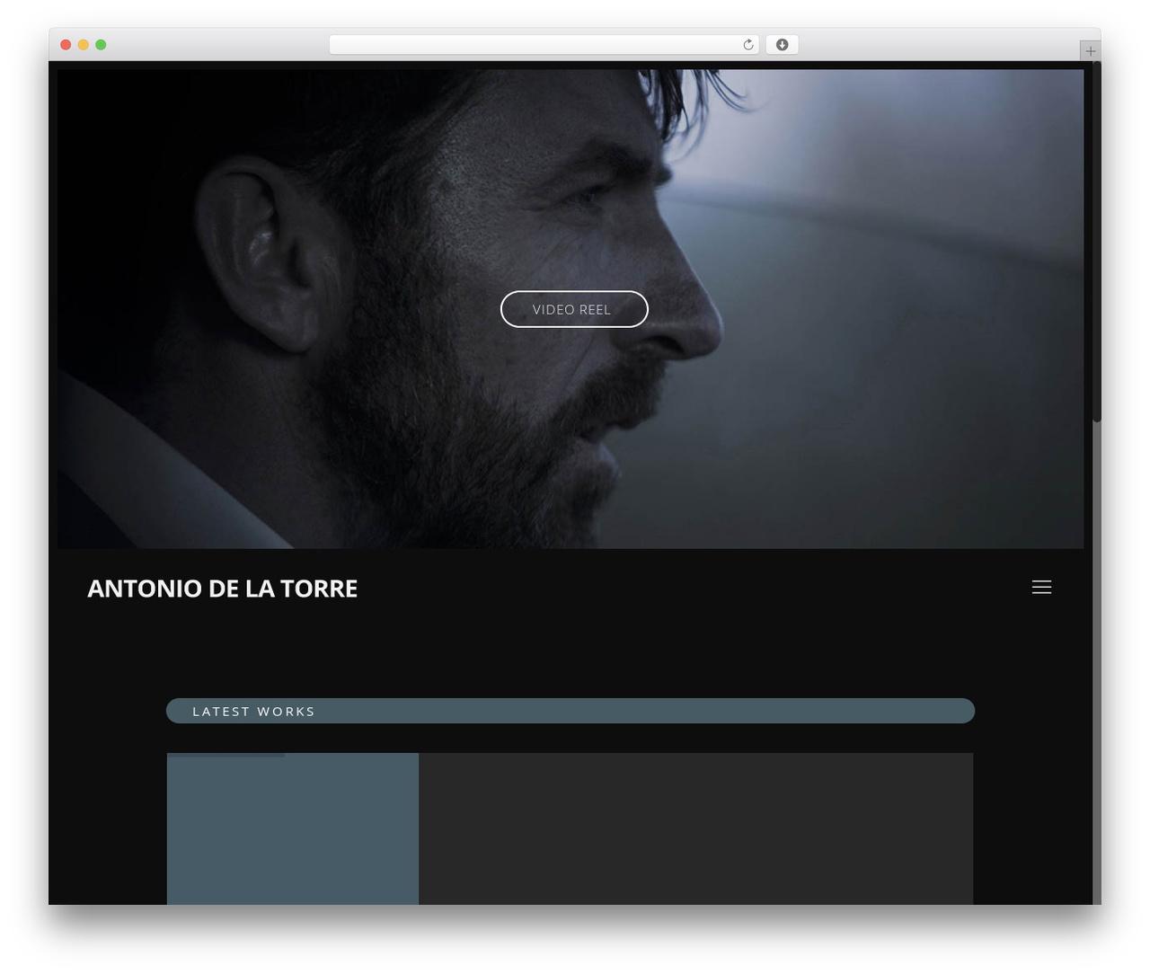 WordPress theme Betheme - antoniodelatorre.es