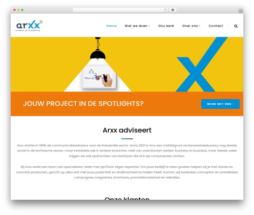 Boo best WordPress theme - arxx.nl