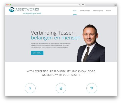 Bridge theme WordPress - assetworks.nl