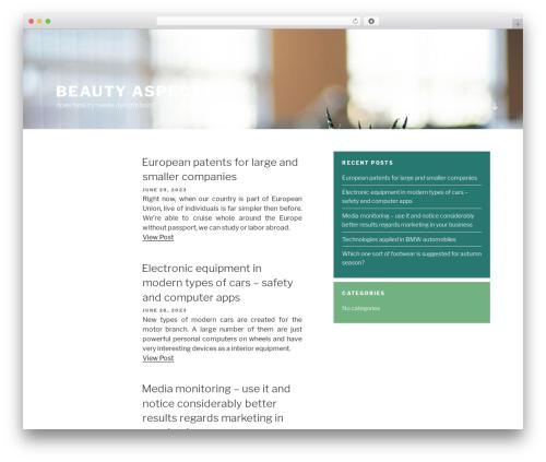 Chandigarh template WordPress free - aspectsofbeauty.co.nz
