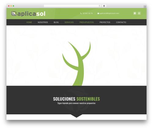 Ecorecycle WordPress theme - aplicasol.com