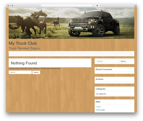 LineDay template WordPress free - mytruckclub.com