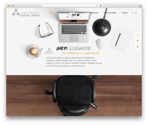 Mikado One theme WordPress - argionos.cl