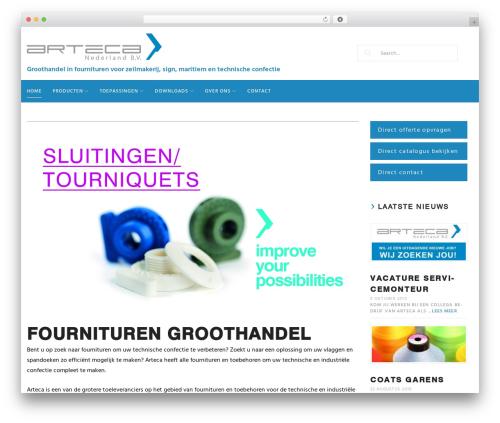 Woostroid best WordPress theme - arteca-nederland.nl