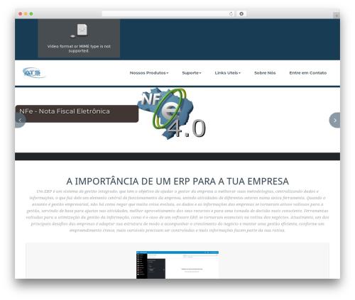 WordPress theme BusiProf Pro - atsti.com.br