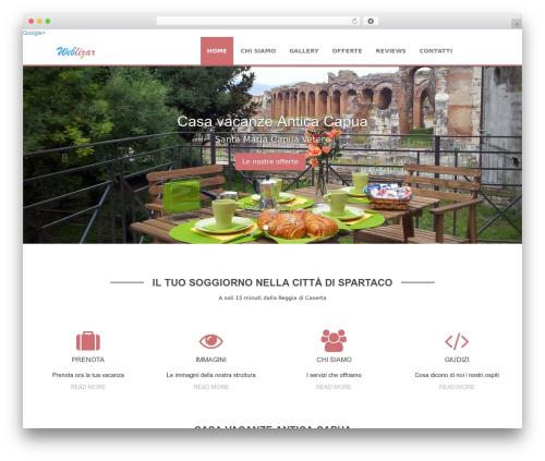 WordPress theme Weblizar - anticacapua.it