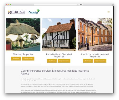 Best WordPress template Betheme - heritageinsuranceagency.co.uk