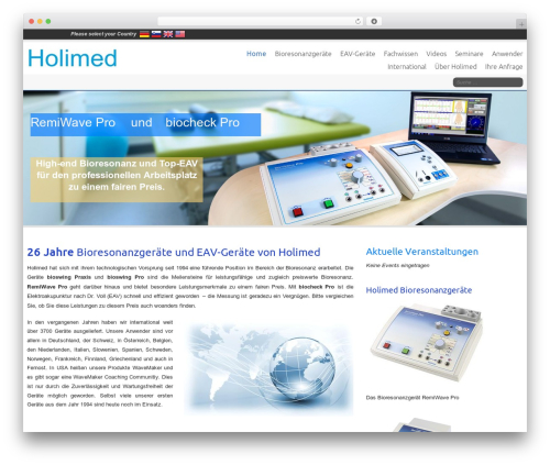 Celestial Child theme WordPress - holimed.de