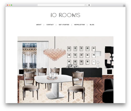 Stockholm business WordPress theme - 10roomsdesign.com