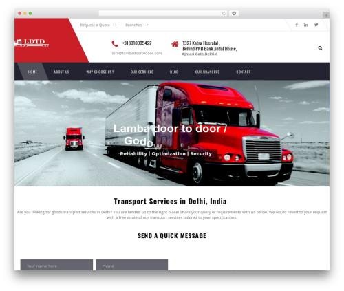 Transport WP template - lambadoortodoor.com