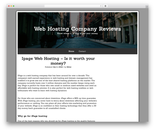 Azul Silver template WordPress free - hymnsociety.org