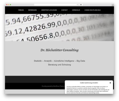 Best WordPress template Argent - hoechstoetter.com