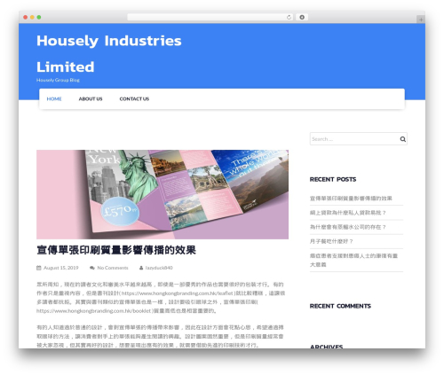 Fetch WordPress theme - housely.com.hk