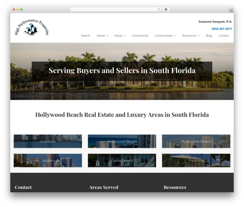 Genesis real estate WordPress theme - highperformanceproperties.com