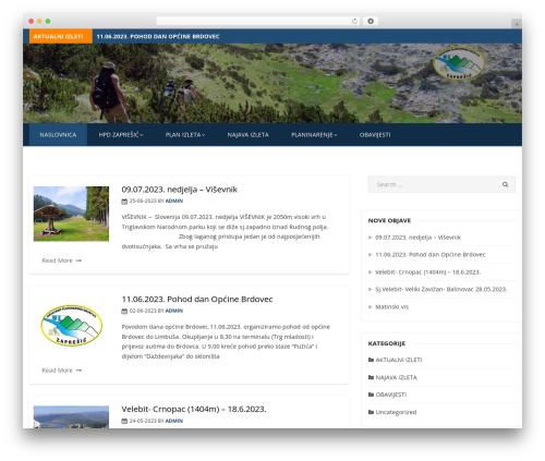 Miteri WordPress template - hpdzapresic.hr