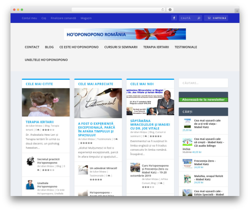 Theme WordPress Extra - hooponopono.ro