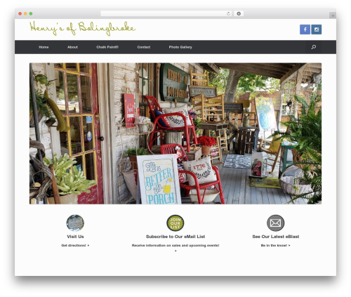 Vantage Premium WordPress shopping theme - henrysofbolingbroke.com