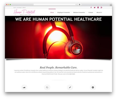 WordPress theme Lounge - humanpotentialhc.com