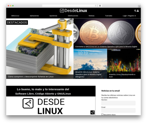 WordPress responsive-lightbox-pro plugin - blog.desdelinux.net