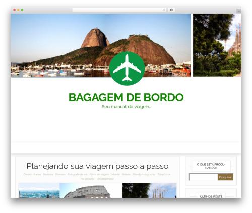 Head Blog theme WordPress - bagagemdebordo.com