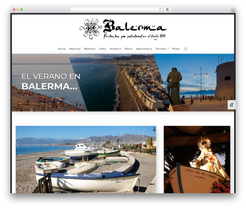 WP theme Nubia - balerma.es