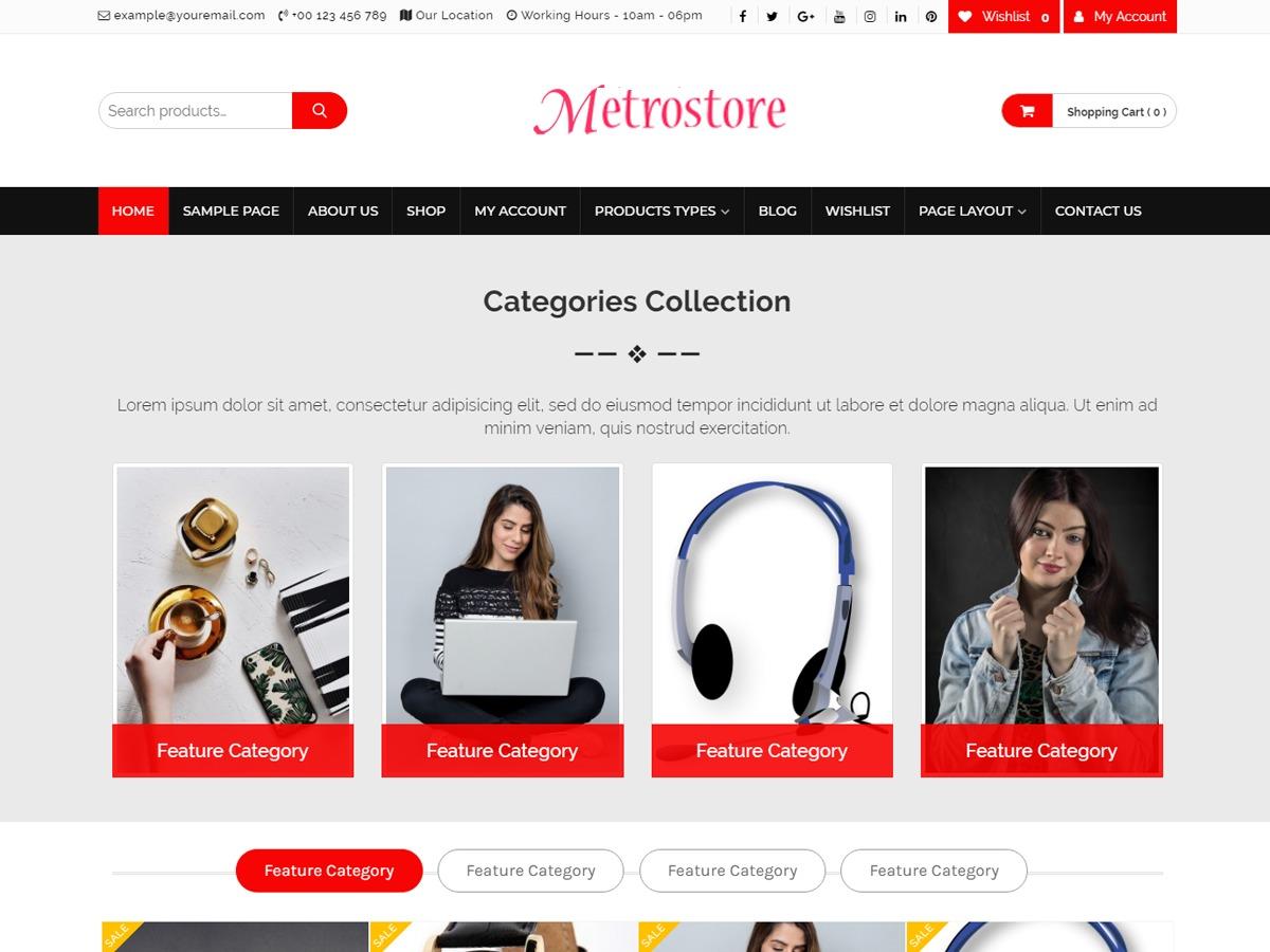 Online Bazaar best WooCommerce theme