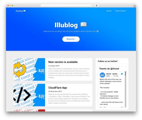 WordPress theme Triumph SEO - blog.illuxat.com