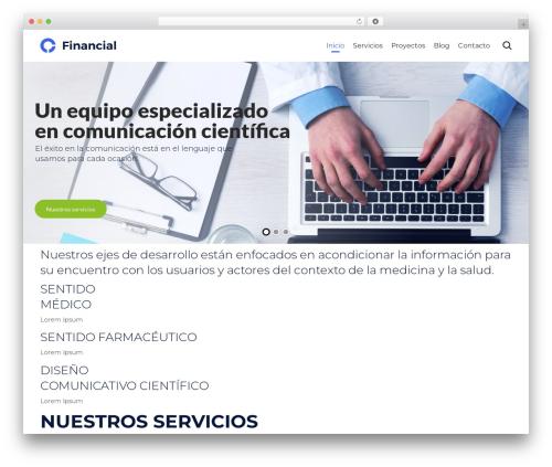 WordPress theme (VamTam) Consulting - contactocms.com